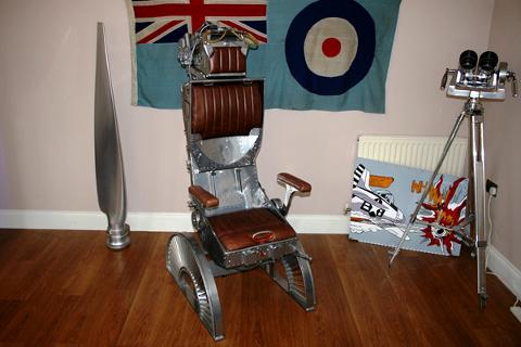 Vintage Aircraft Furniture Designer Art And Furniture