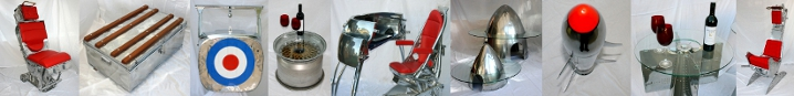 Vintage Aircraft Furniture