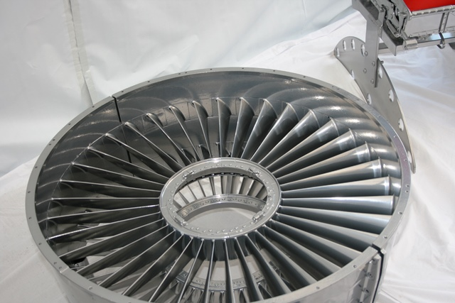 Jet Engine Fan Blades : Raf nimrod jet engine fan blade coffee table vintage