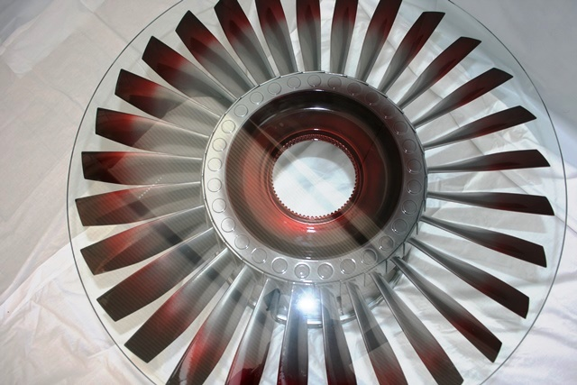 Admirable Rolls Royce Jet Engine Fan Blade Coffee Table Flame Finish Download Free Architecture Designs Scobabritishbridgeorg